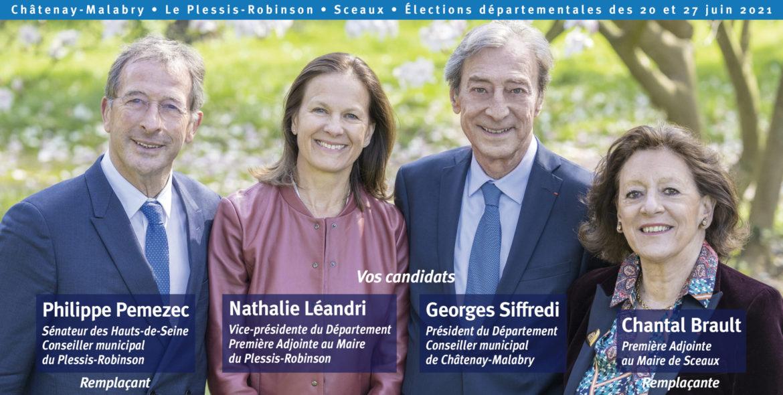 Georges Siffredi Départementales